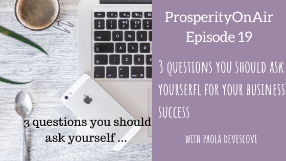 questions for business success