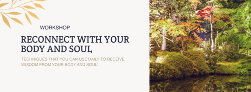 reconnect with your body and soul