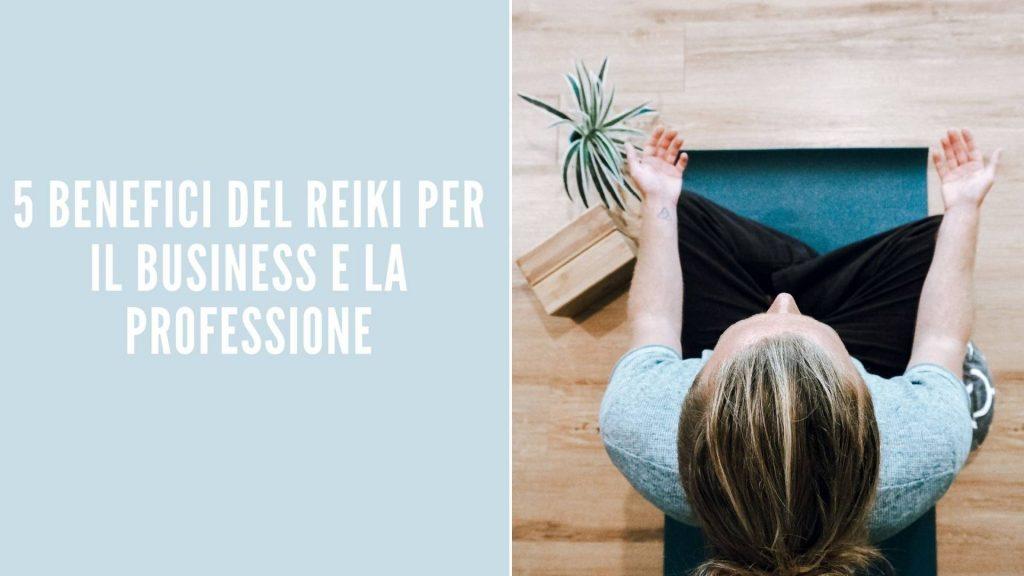 Reiki per il business